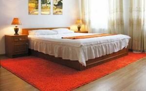 спальня на подобовій квартирі у Львові по вул. Мартовича 3