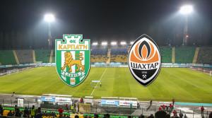 Чемпионат Украины Карпаты - Шахтер
